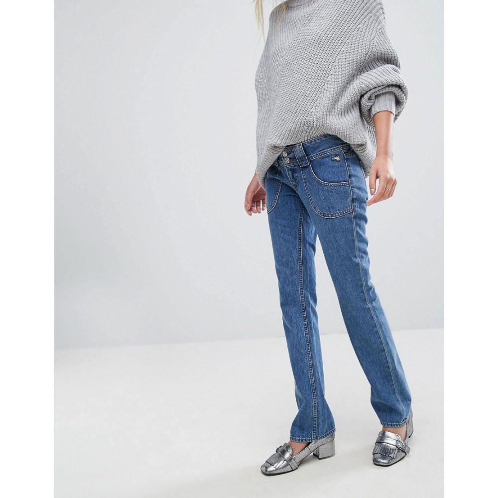 ジェイ ブランド J Brand レディース ボトムス・パンツ ジーンズ・デニム【x Bella Freud Low Rise Straight Leg Jean】Blue