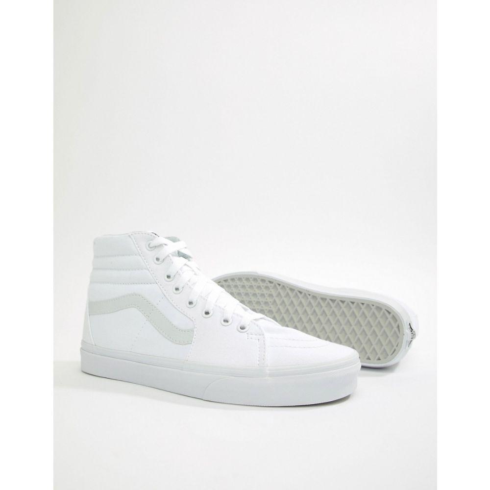 ヴァンズ メンズ シューズ・靴 スニーカー【Sk8-Hi Trainers In White VD5IW00】White
