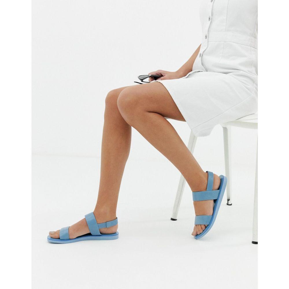 マット アンド ナット matt & nat レディース シューズ・靴 サンダル・ミュール【Matt & Nat flat sandals】Azue blue