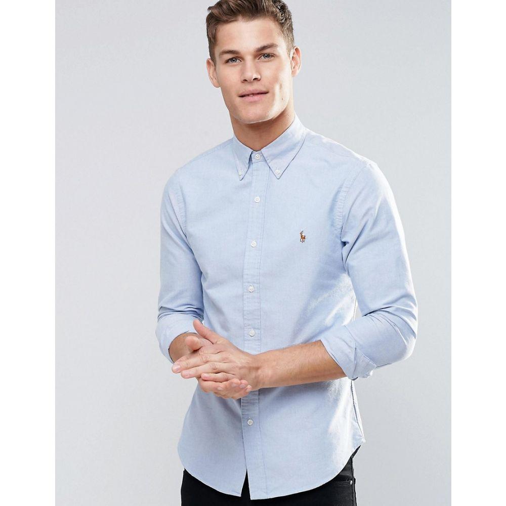 ラルフ ローレン Polo Ralph Lauren メンズ トップス シャツ【oxford shirt in slim fit blue】Blue