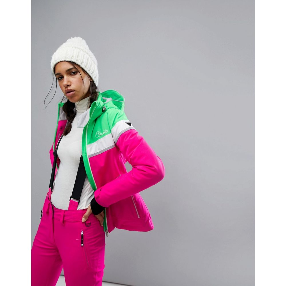 デア トゥビー Dare 2b レディース スキー・スノーボード アウター【Dare2be Premiss Padded Ski Jacket】Pink
