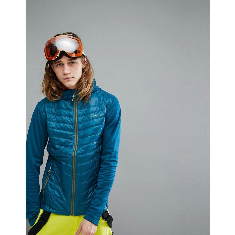 デア トゥビー Dare 2b メンズ スキー・スノーボード アウター【Dare2b Transfuse Hybrid Insulated Padded Ski Jacket】Blue