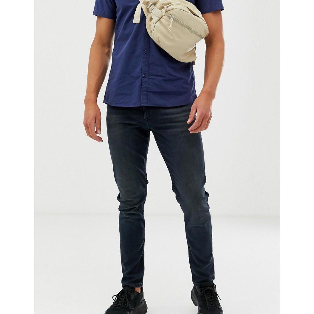 トミー ジーンズ Tommy Jeans メンズ ボトムス・パンツ ジーンズ・デニム【skinny fit simon jeans in washed black】Washed black