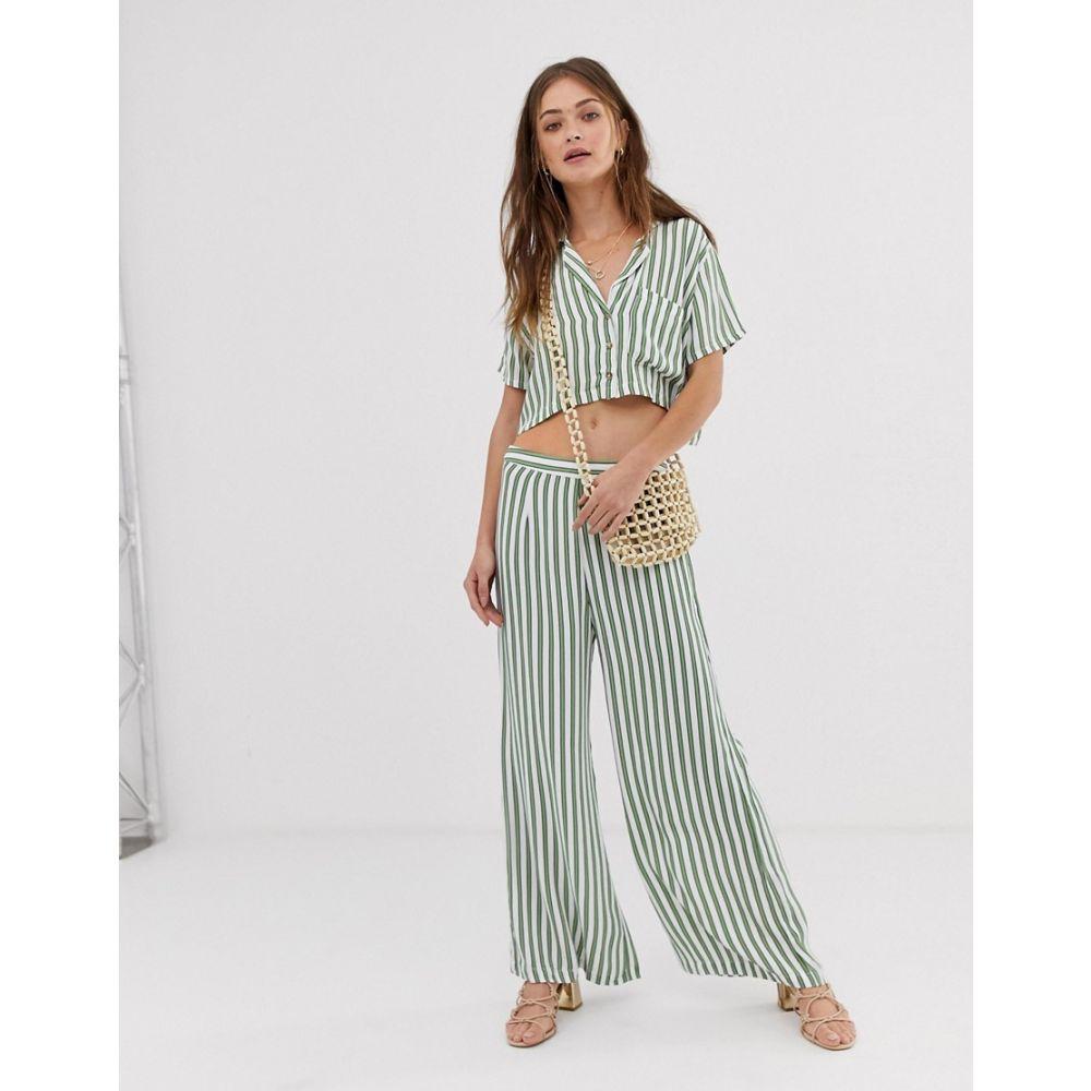 フェイスフルザブランド Faithfull the Brand レディース ボトムス・パンツ【Faithfull Gabrielle stripe pants】Almeria stripe