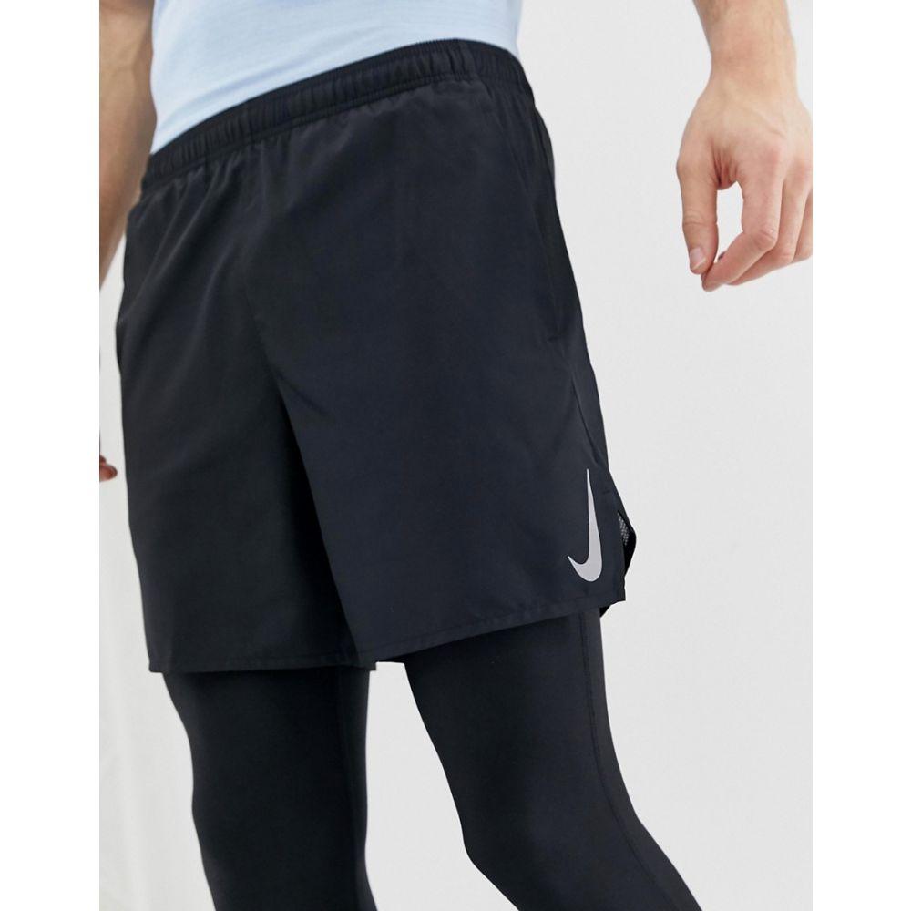 ナイキ Nike Running メンズ ボトムス・パンツ ショートパンツ【challenger 7 inch shorts in black】Black