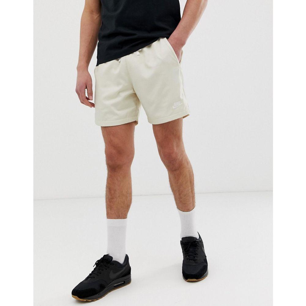 ナイキ Nike メンズ ボトムス・パンツ ショートパンツ【Woven Logo Shorts Off-White】White