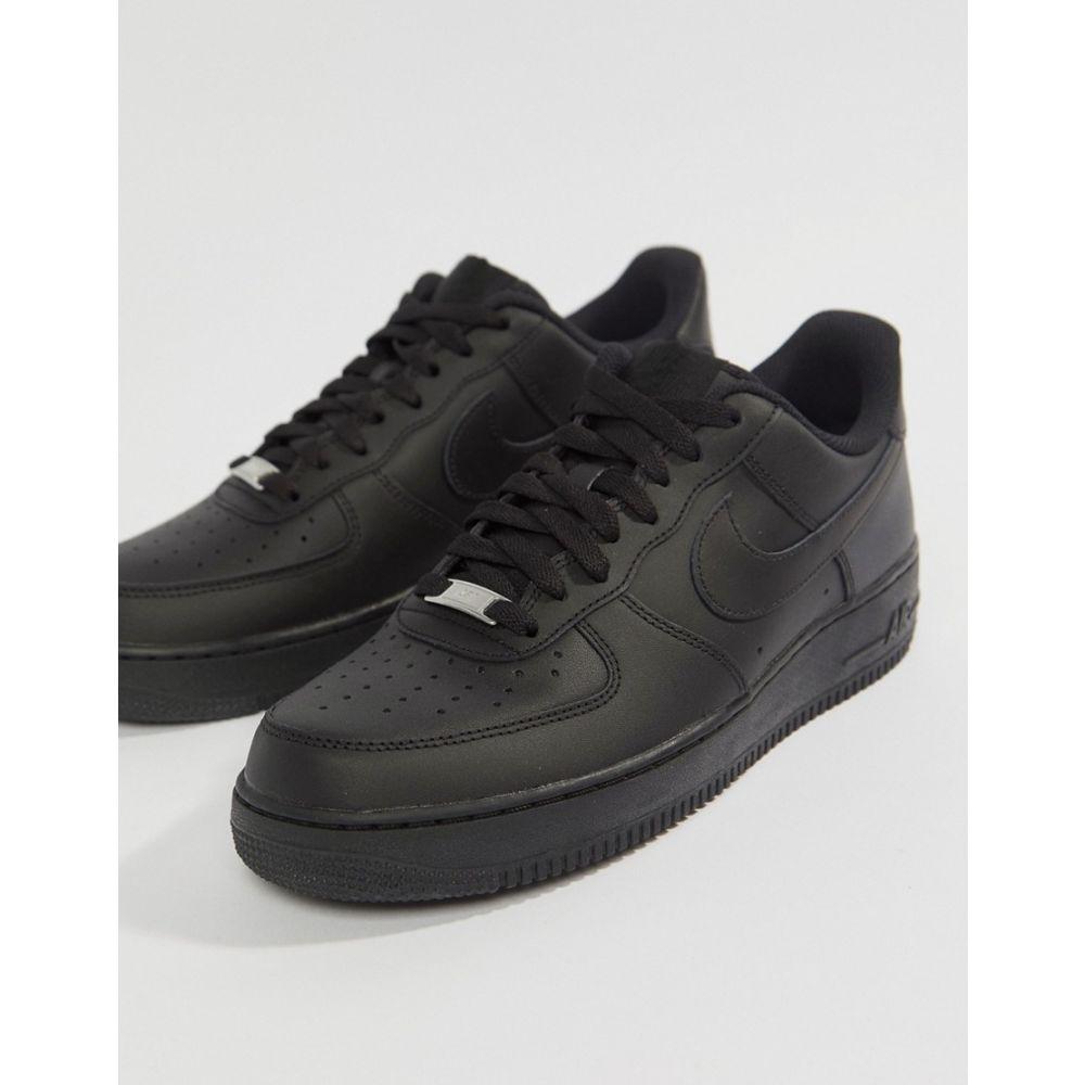 ナイキ Nike メンズ シューズ・靴 スニーカー【Air Force 1 '07 Trainers In Black】Black