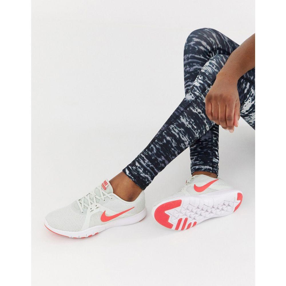 ナイキ Nike Training レディース シューズ・靴 スニーカー【Flex Trainers In Grey】Sail