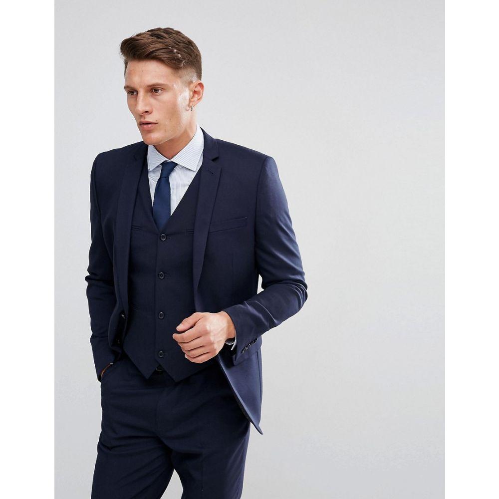 エイソス ASOS DESIGN メンズ アウター スーツ・ジャケット【slim suit jacket in navy】Navy