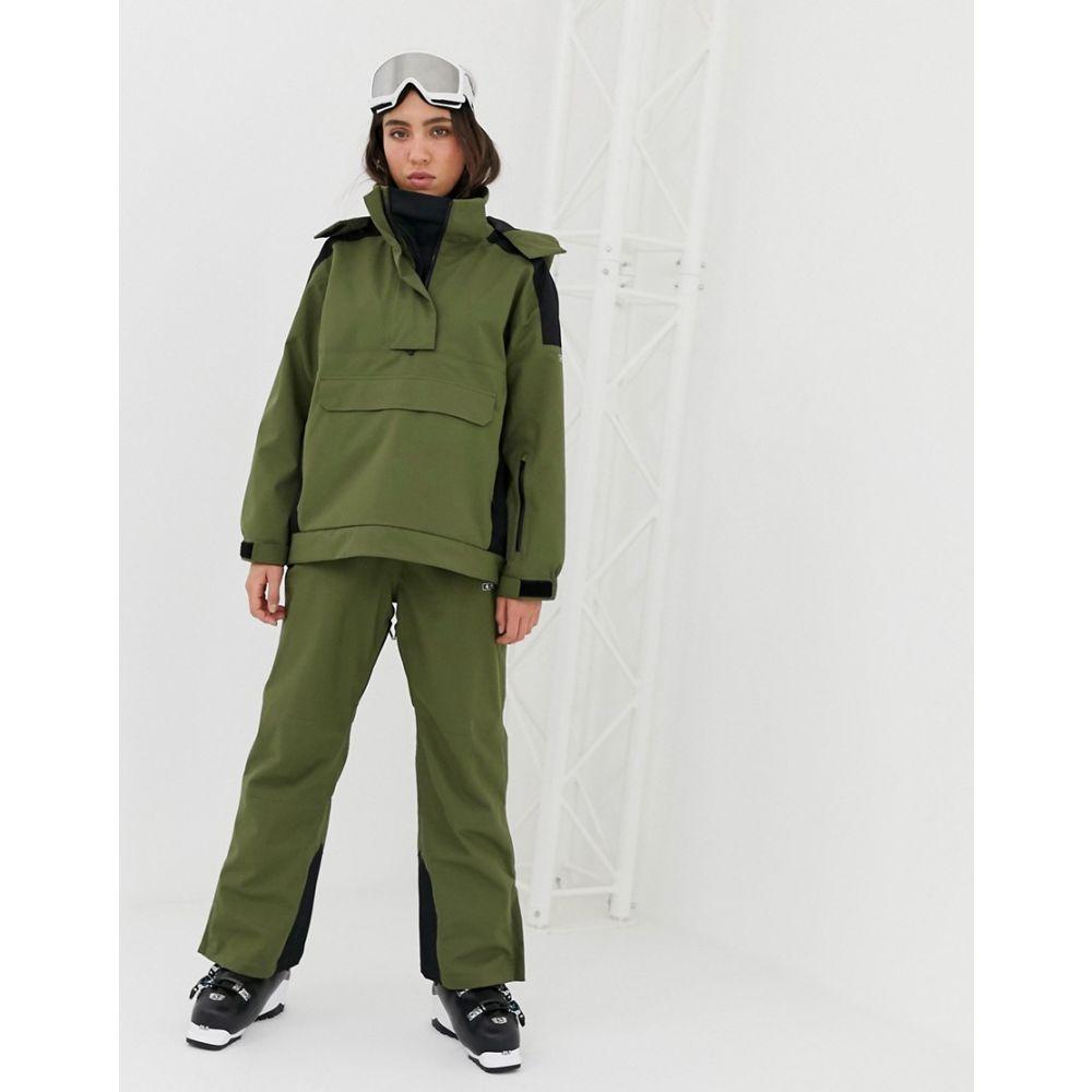 エイソス ASOS 4505 レディース スキー・スノーボード ボトムス・パンツ【ski minimal snowboarding trousers with fully taped seams】Khaki