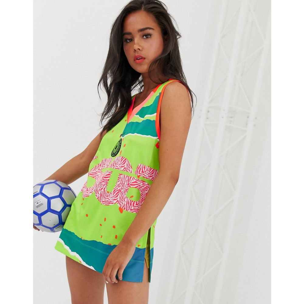 エイソス ASOS 4505 レディース サッカー トップス【football vest】Multi