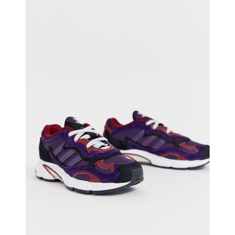 アディダス adidas Originals レディース シューズ・靴 スニーカー【Temper Run in purple and black】Purple