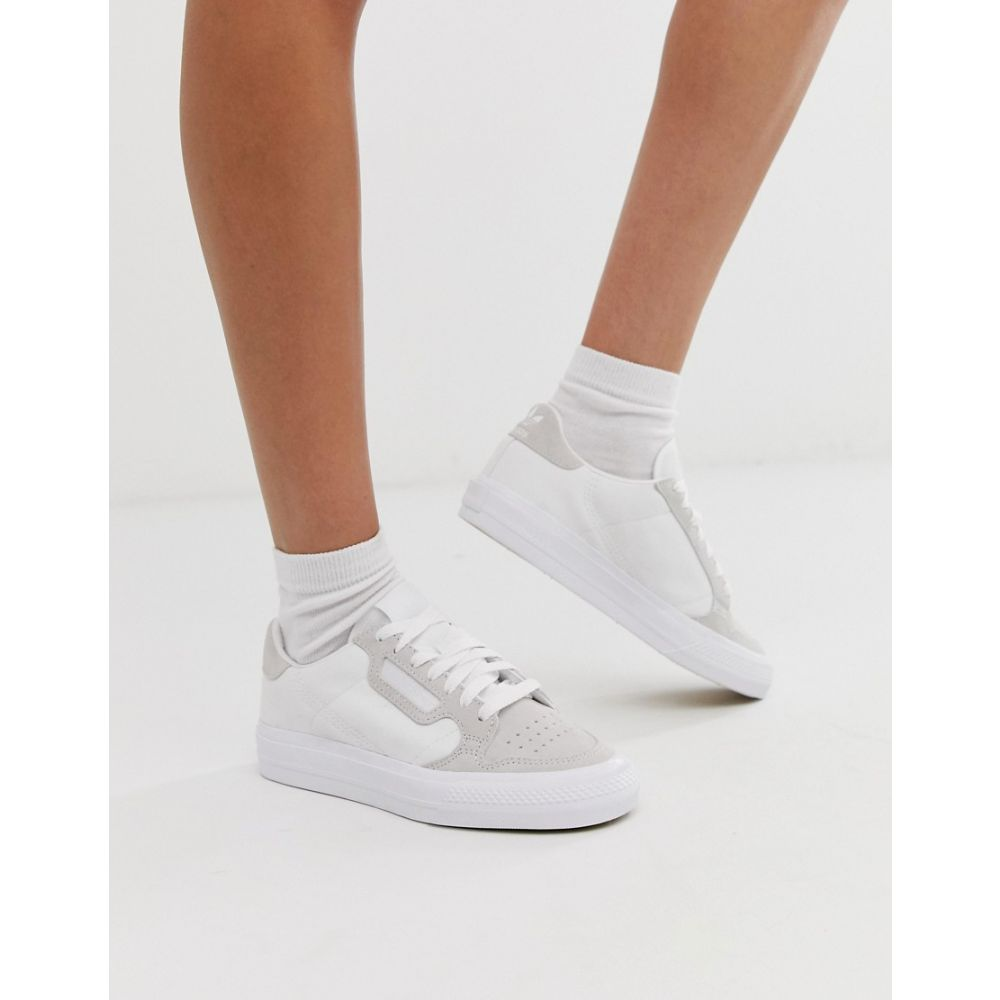 アディダス adidas Originals レディース シューズ・靴 スニーカー【Continental 80 Vulc trainer in white】White