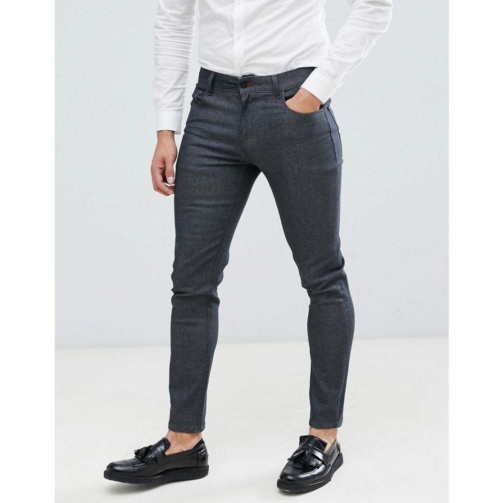 エイソス ASOS DESIGN メンズ ボトムス・パンツ ジーンズ・デニム【smart skinny jeans in raw grey】Grey