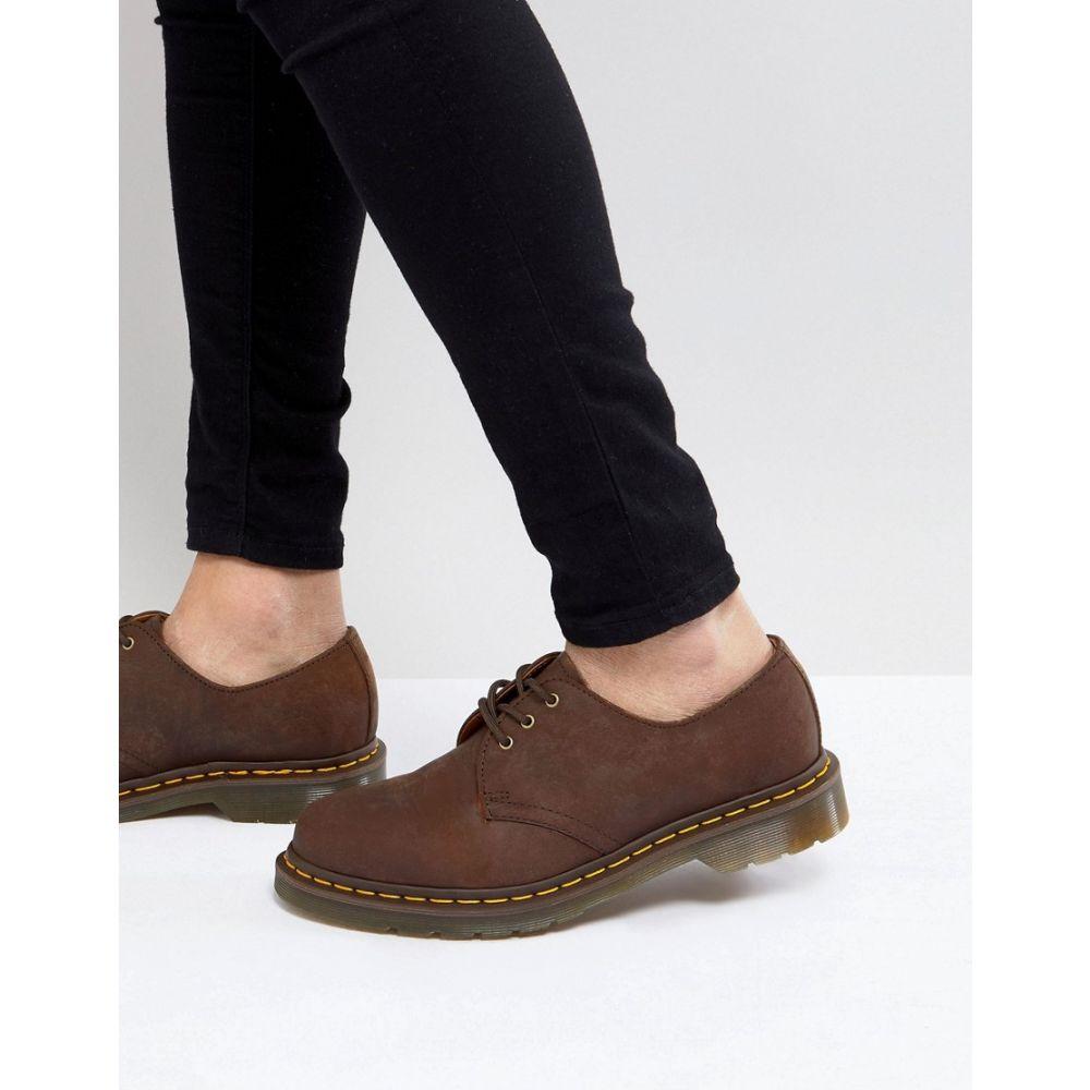 ドクターマーチン Dr Martens メンズ シューズ・靴【original 3-eye shoes in brown 11838201】Brown