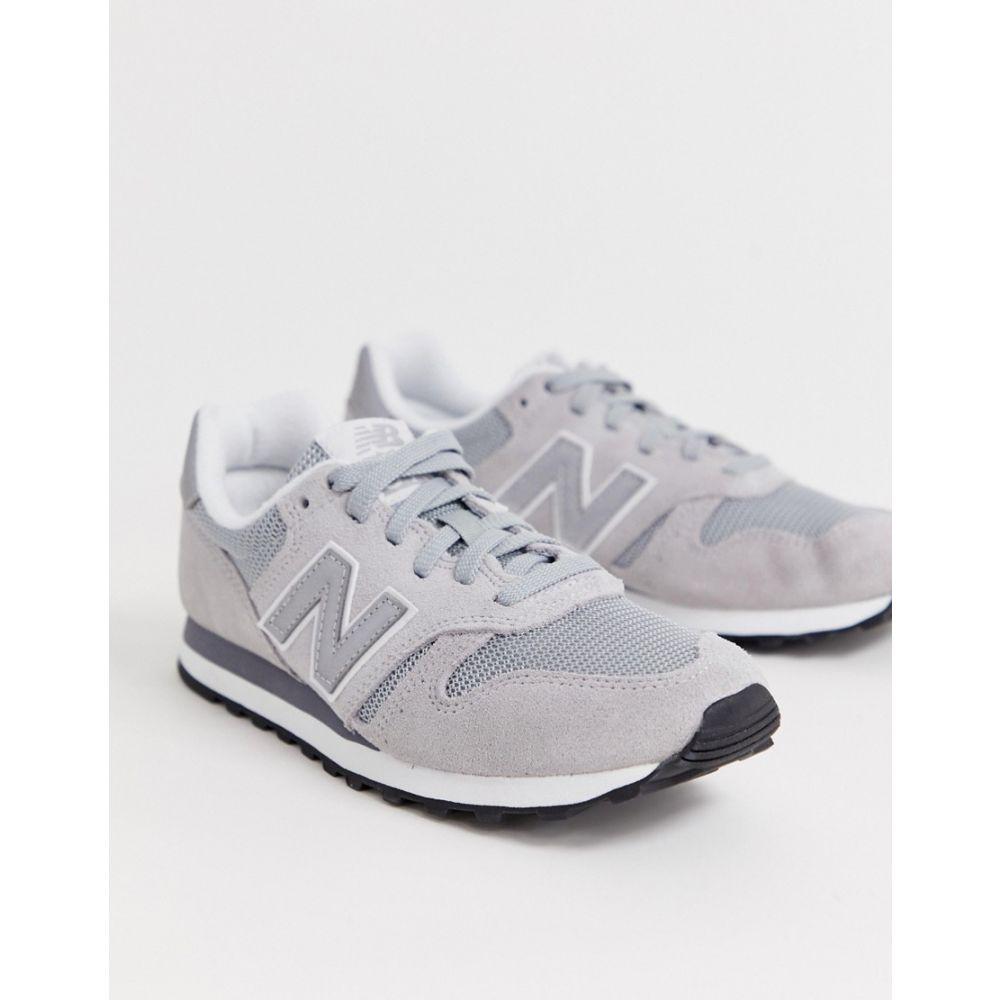 ニューバランス New Balance レディース シューズ・靴 スニーカー【373 grey trainers】Grey