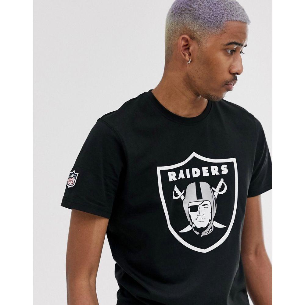 NEW ERA T-shirt Oakland Raiders NeroNFL Nero