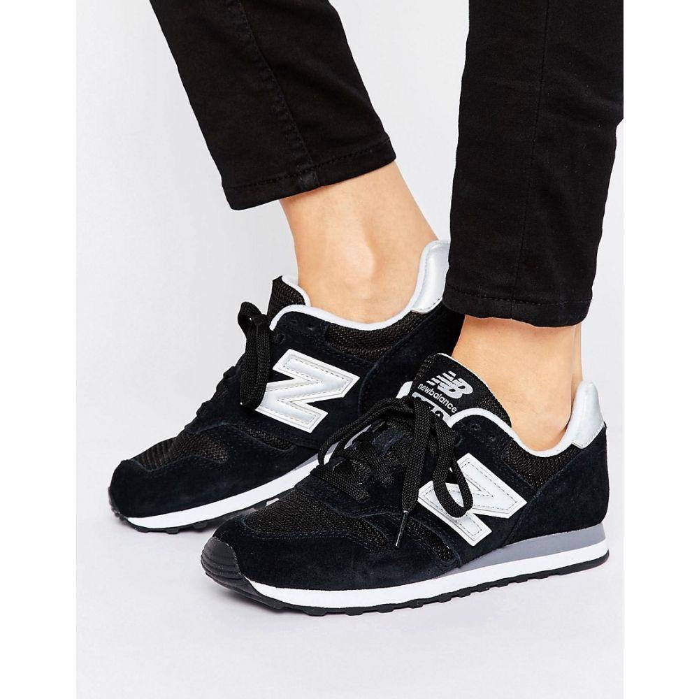 ニューバランス New Balance レディース シューズ・靴 スニーカー【373 trainers in black】Black