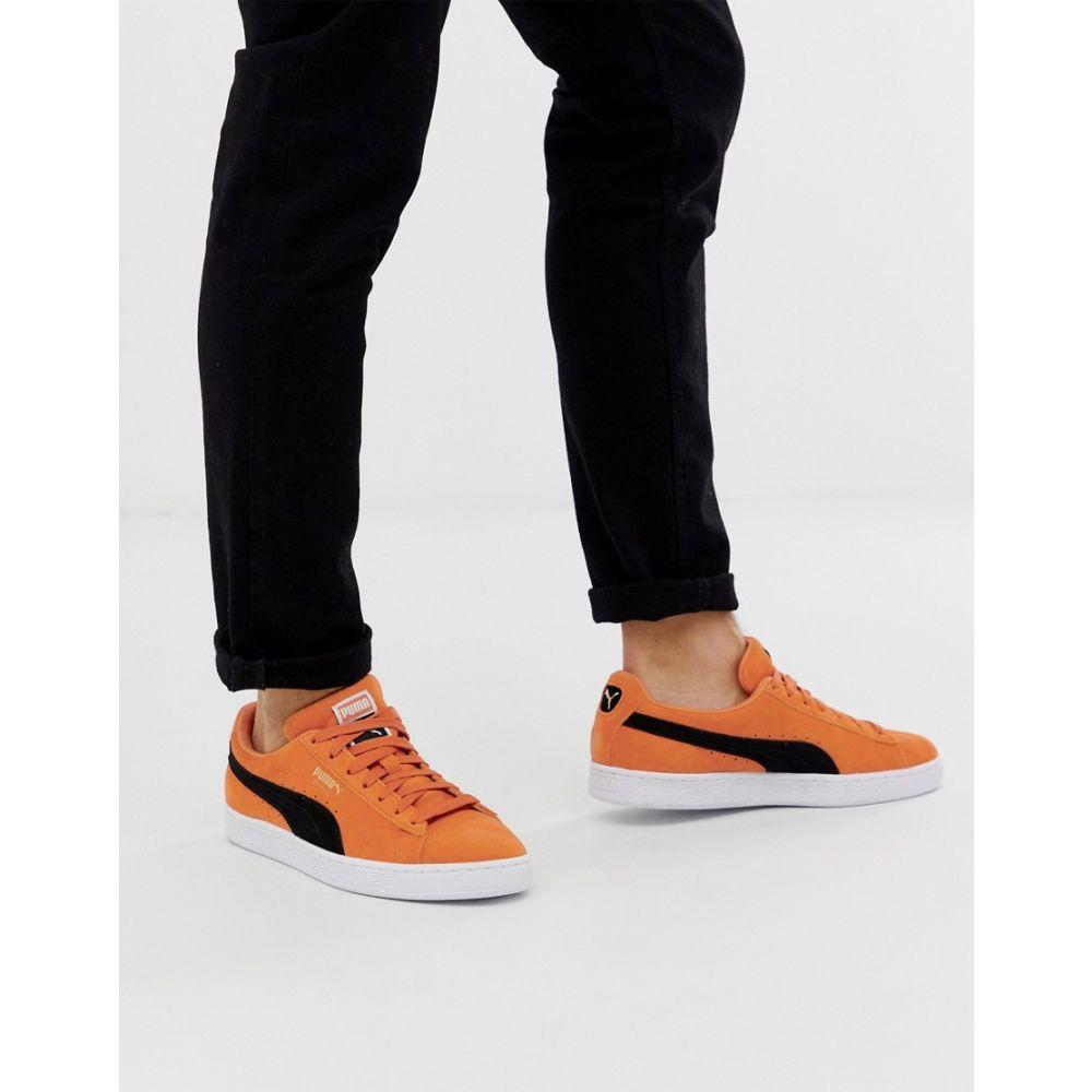プーマ Puma メンズ シューズ・靴 スニーカー【Suede Classic trainers in orange】Orange
