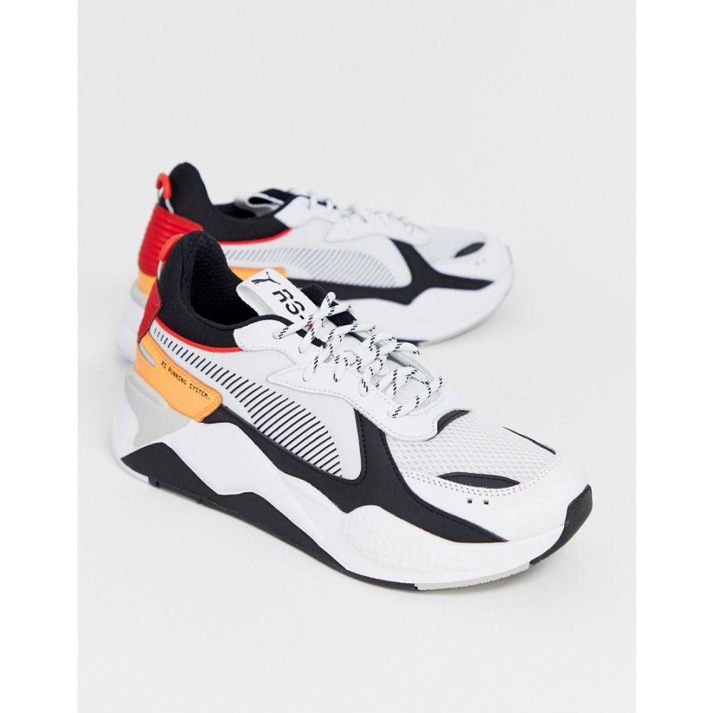 プーマ Puma メンズ シューズ・靴 スニーカー【RS-X Tracks trainers in white】White