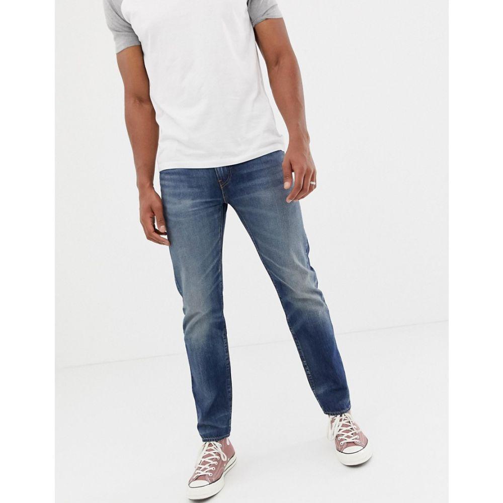 リーバイス Levis メンズ ボトムス・パンツ ジーンズ・デニム【Levi's 502 regular tapered fit jeans in mako cool warp mid wash】Mako warp cool