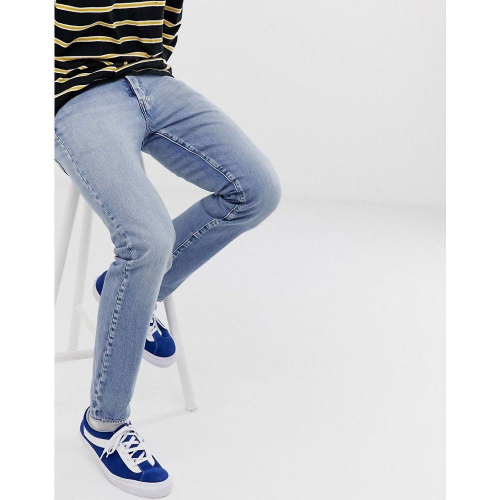 リーバイス Levis メンズ ボトムス・パンツ ジーンズ・デニム【Levi's 501 slim tapered low rise jeans in revolution mid wash】Revolution mid
