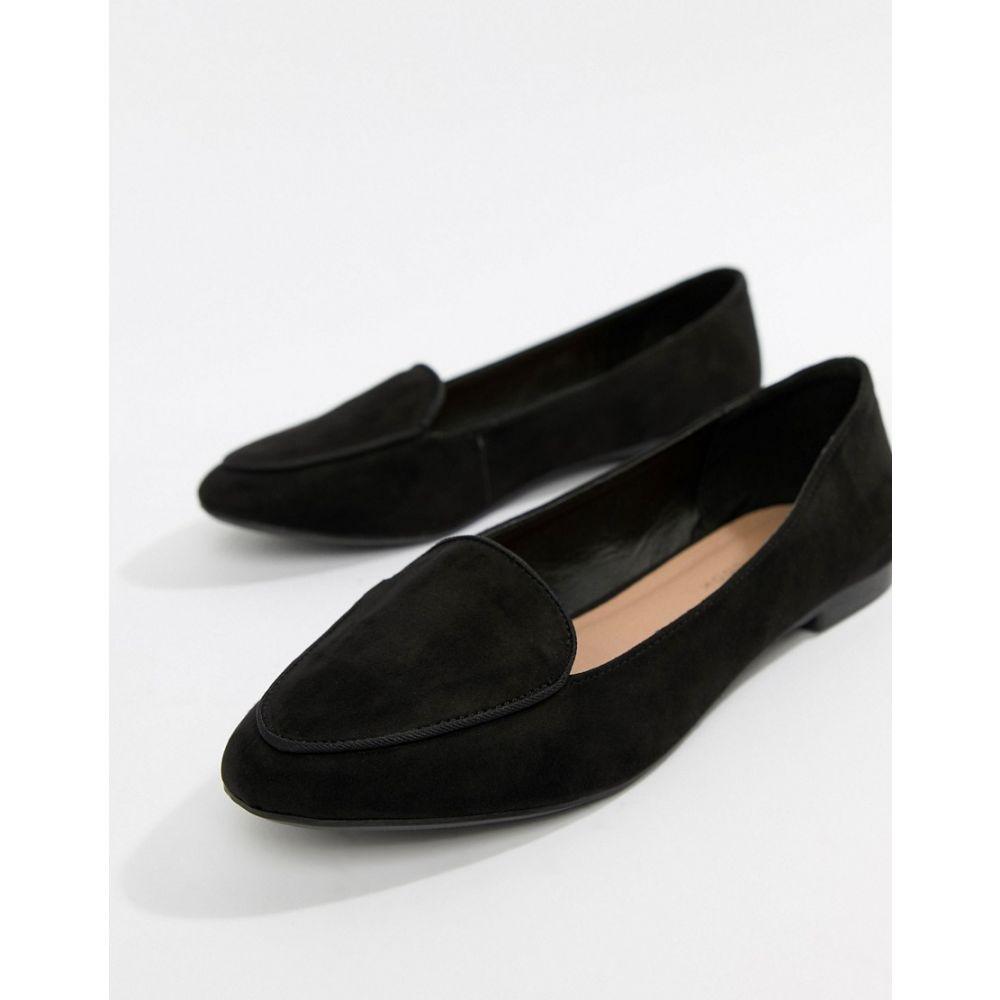 ニュールック New Look レディース シューズ・靴 ローファー・オックスフォード【Loafer】Black