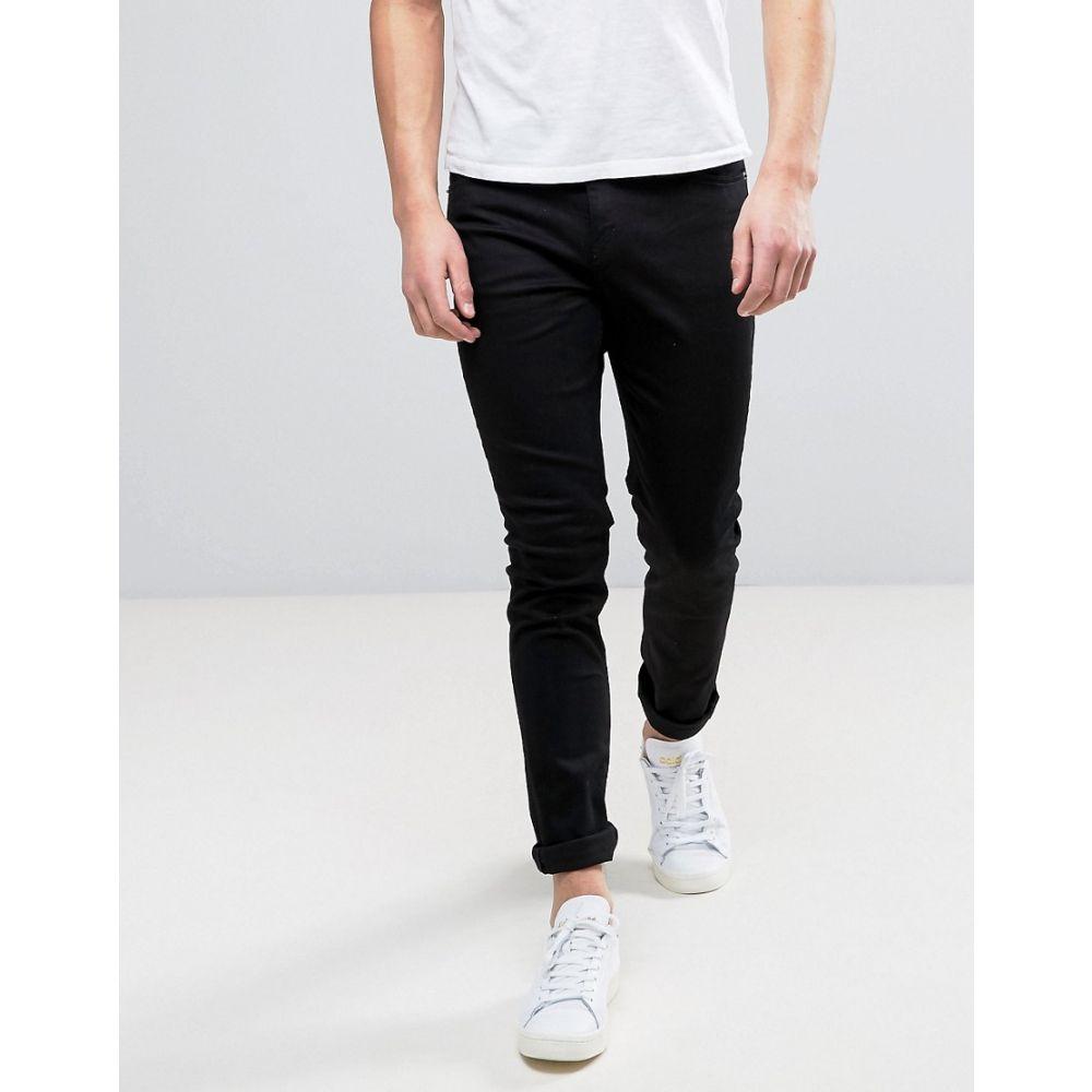 選ぶなら チープマンデー Cheap Monday メンズ ボトムス・パンツ ジーンズ・デニム【Skinny Jeans In New Black】Black, Zoff (ゾフ) 37d1fabc