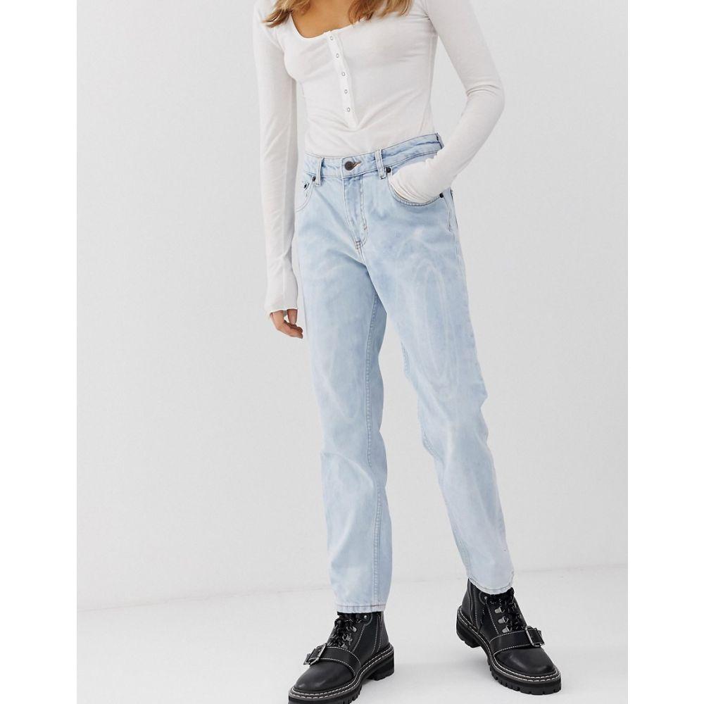 チープマンデー Cheap Monday レディース ボトムス・パンツ ジーンズ・デニム【mom jeans with cropped leg with organic cotton】Blue spider