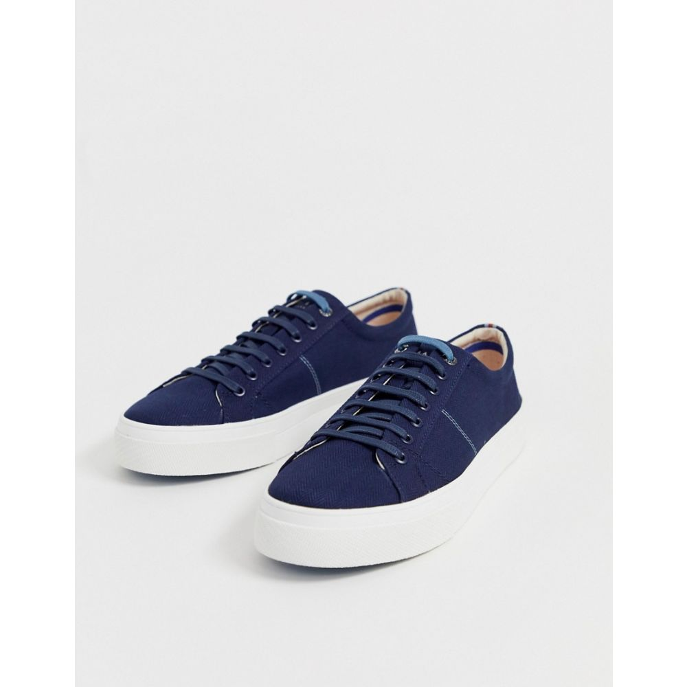 テッドベーカー Ted Baker メンズ シューズ・靴 スニーカー【Eshron plimsolls in blue】Blue