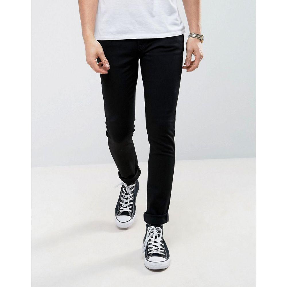 ヌーディージーンズ Nudie Jeans メンズ ボトムス・パンツ ジーンズ・デニム【Co Skinny Lin jeans in black】Black