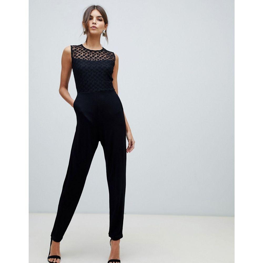 フレンチコネクション French Connection レディース ワンピース・ドレス オールインワン【fitted jumpsuit】Black