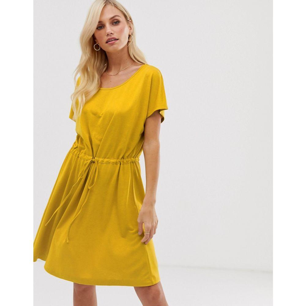 フレンチコネクション French Connection レディース ワンピース・ドレス ワンピース【Ravenna drawstring dress】Savona sand