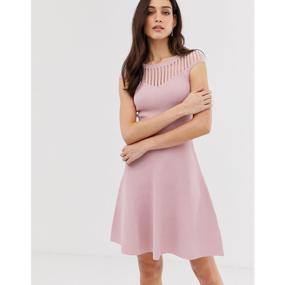 フレンチコネクション French Connection レディース ワンピース・ドレス ワンピース【Rose fit and flare knit dress】Teagown