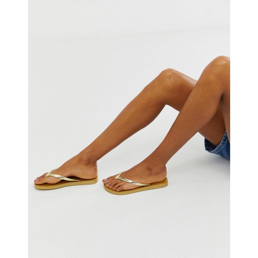 イパネマ Ipanema レディース シューズ・靴 ビーチサンダル【glam flip flops】Gold