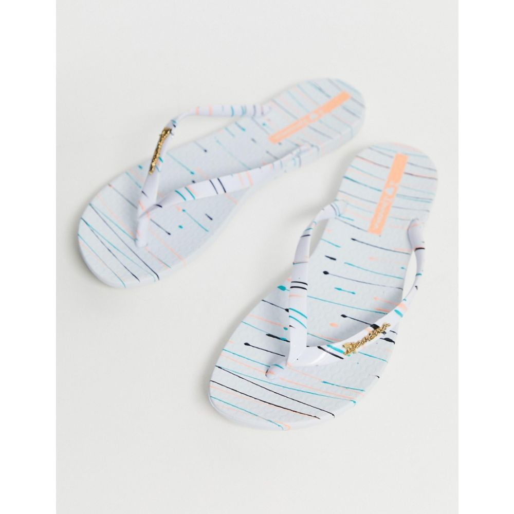 イパネマ Ipanema レディース シューズ・靴 ビーチサンダル【splash flip flops】White