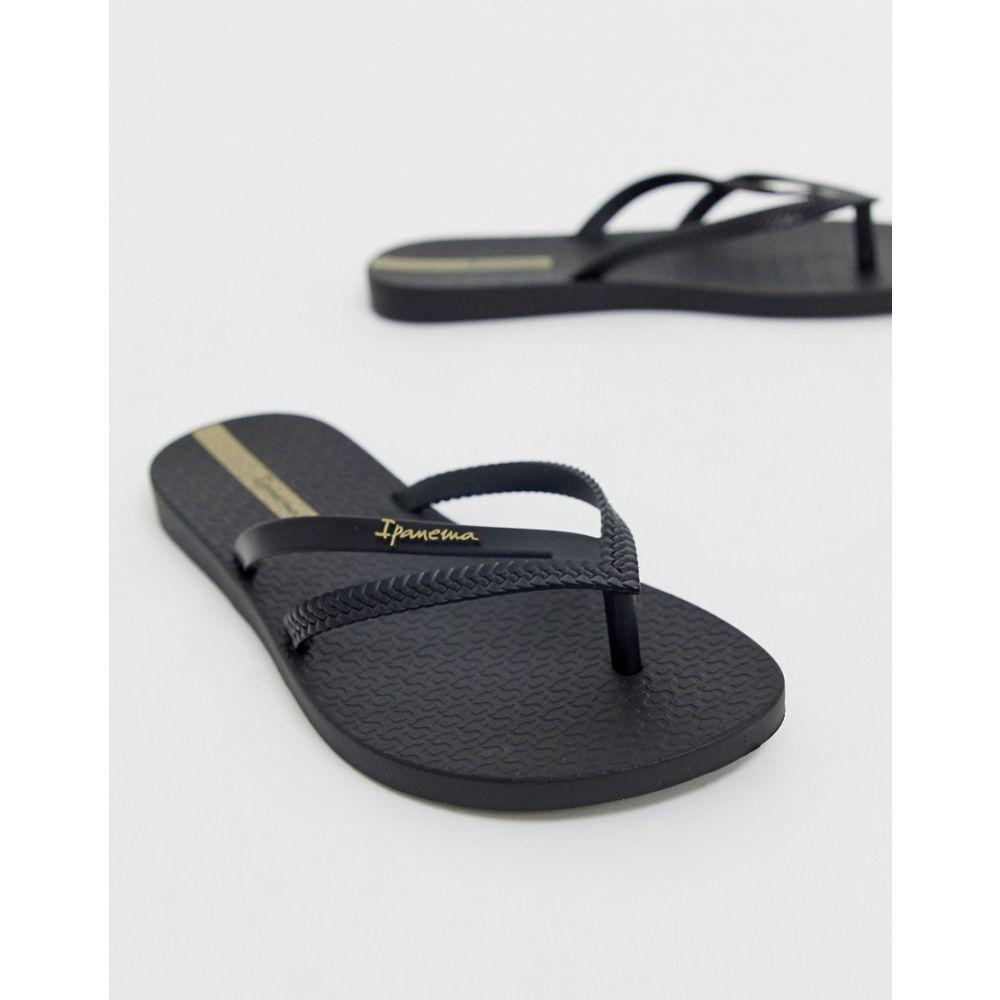 イパネマ Ipanema レディース シューズ・靴 ビーチサンダル【flip flops】Black