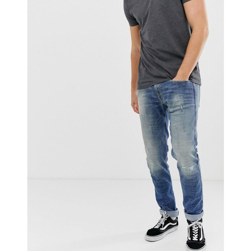 リプレイ Replay メンズ ボトムス・パンツ ジーンズ・デニム【Anbass slim 10 Year Aged jeans in mid wash】Blue
