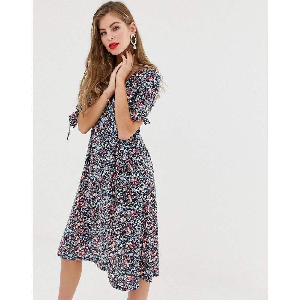ワイ エー エス Y.A.S レディース ワンピース・ドレス ワンピース【Carolina ditsy floral print midi dress】Multi