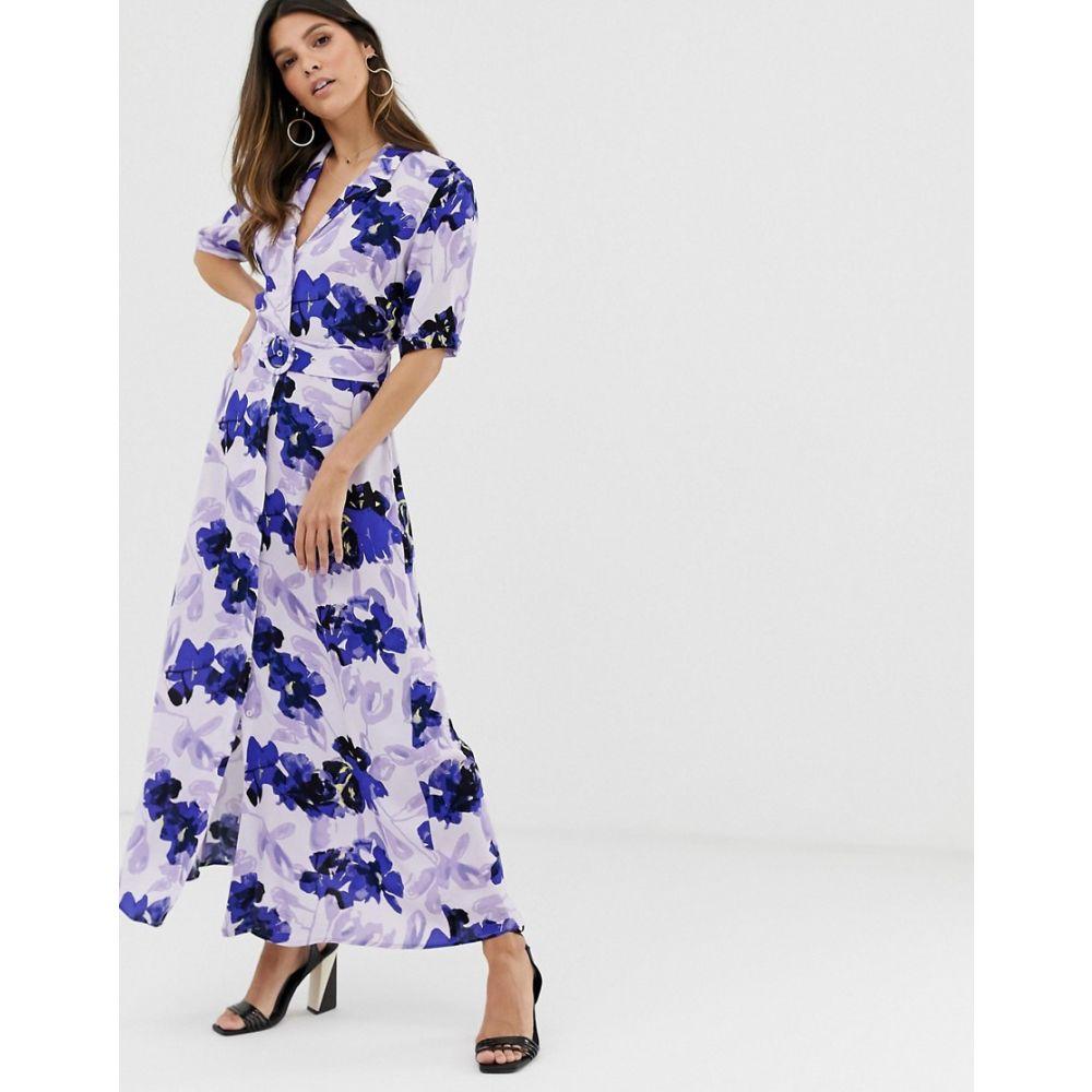 ワイ エー エス Y.A.S レディース ワンピース・ドレス ワンピース【floral shirt maxi dress】Multi