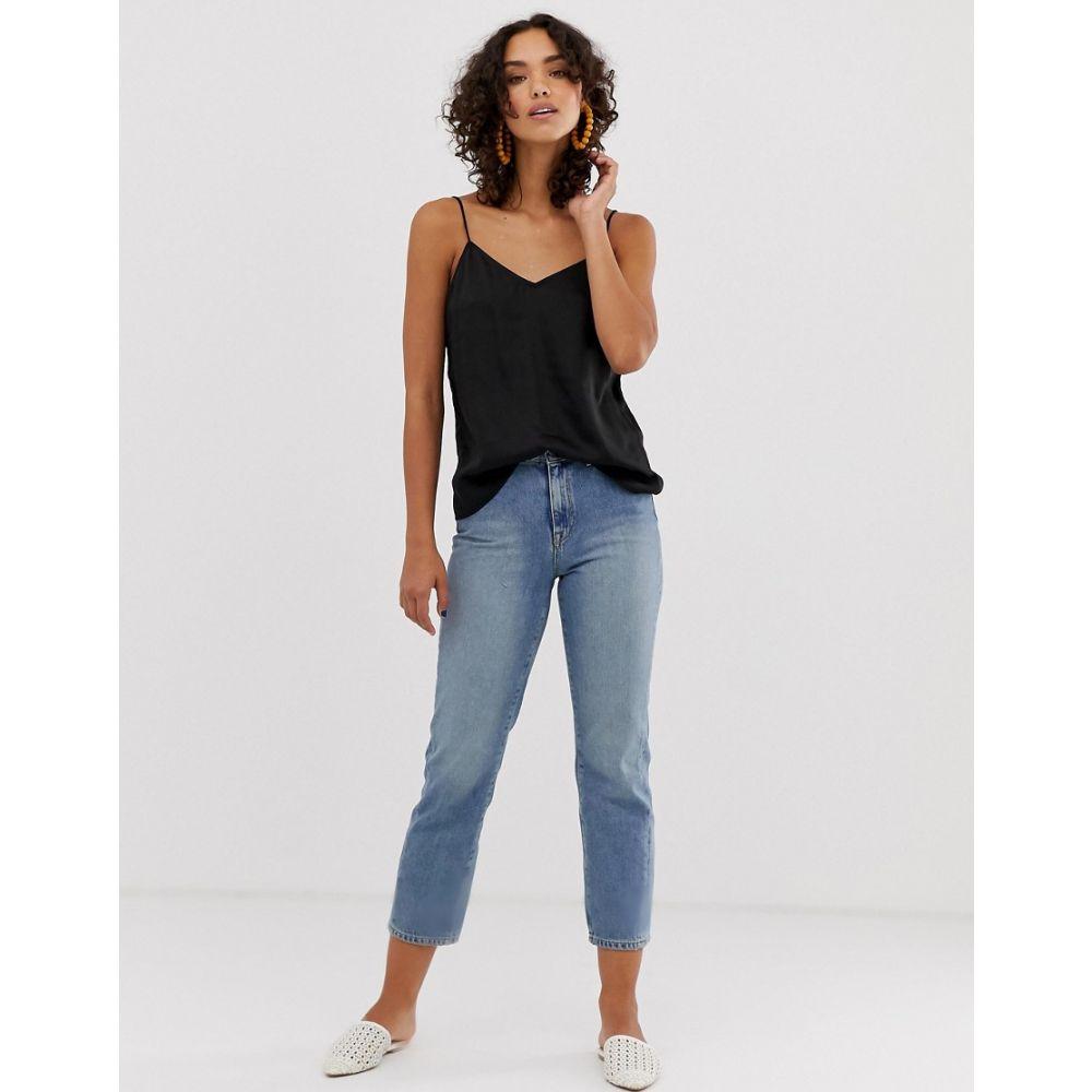 セレクテッド オム Selected レディース ボトムス・パンツ ジーンズ・デニム【Femme straight leg jeans】Blue