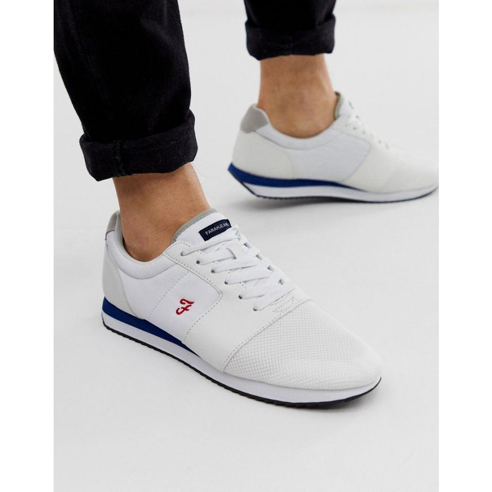 ファーラー Farah メンズ シューズ・靴 スニーカー【sport trainers in white】White