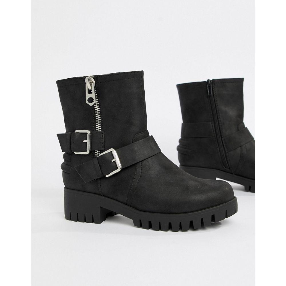 ブーツ【Biker Ankle Blink シューズ・靴 Boots】Black レディース ブリンク