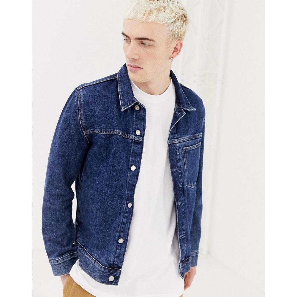 ウィークデイ Weekday メンズ アウター ジャケット【core denim jacket in storm blue】Blue