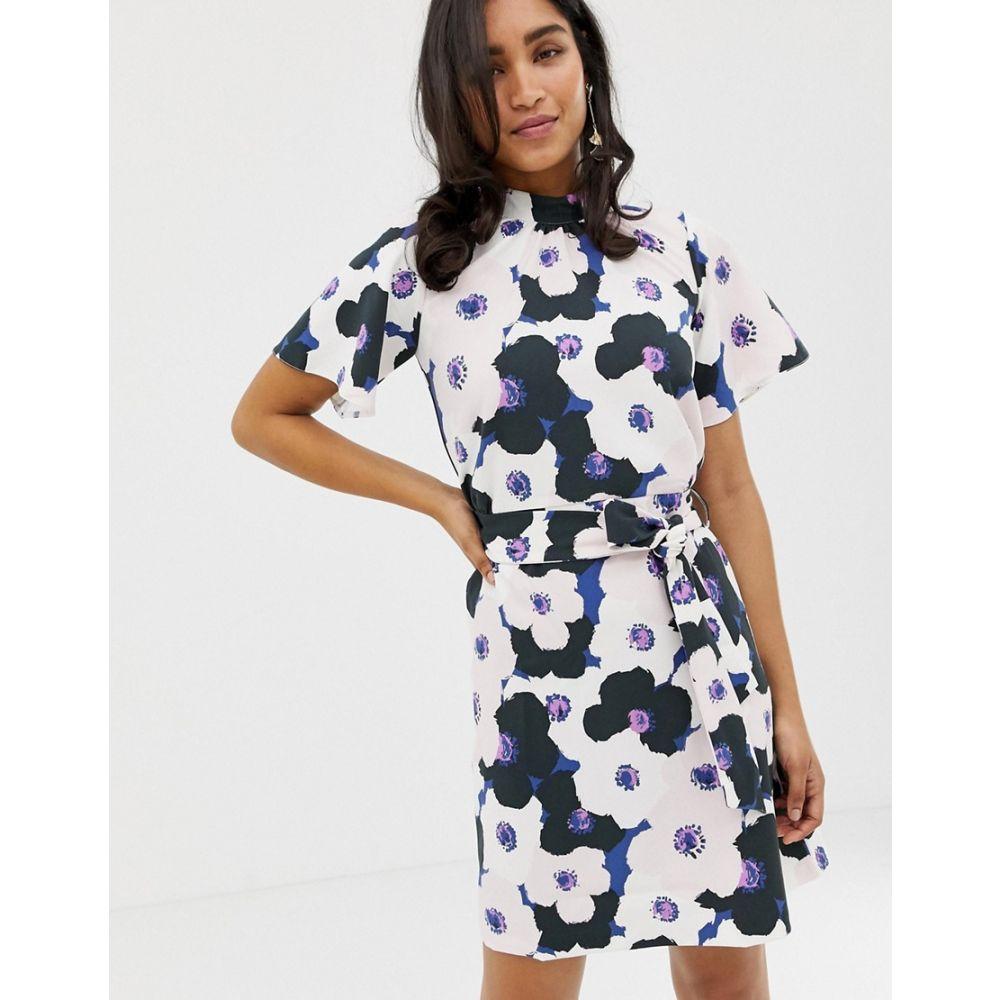 クローゼットロンドン Closet London レディース ワンピース・ドレス ワンピース【Closet Gathered Top A-line Dress】Multi