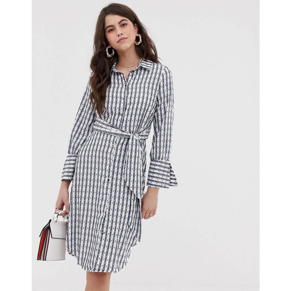 クローゼットロンドン Closet London レディース ワンピース・ドレス ワンピース【Closet shirt tie dress】Multi
