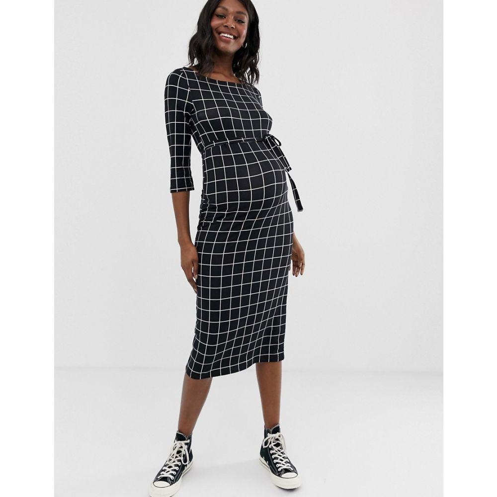 Mamalious Sweater Maternity Dress Size 8-16 Grey
