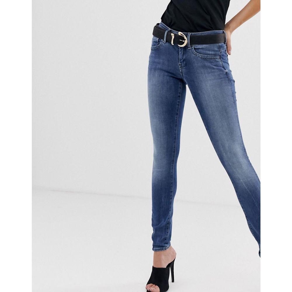 ジースター ロゥ G-Star レディース ボトムス・パンツ ジーンズ・デニム【Lynn mid rise super skinny jeans】Medium aged