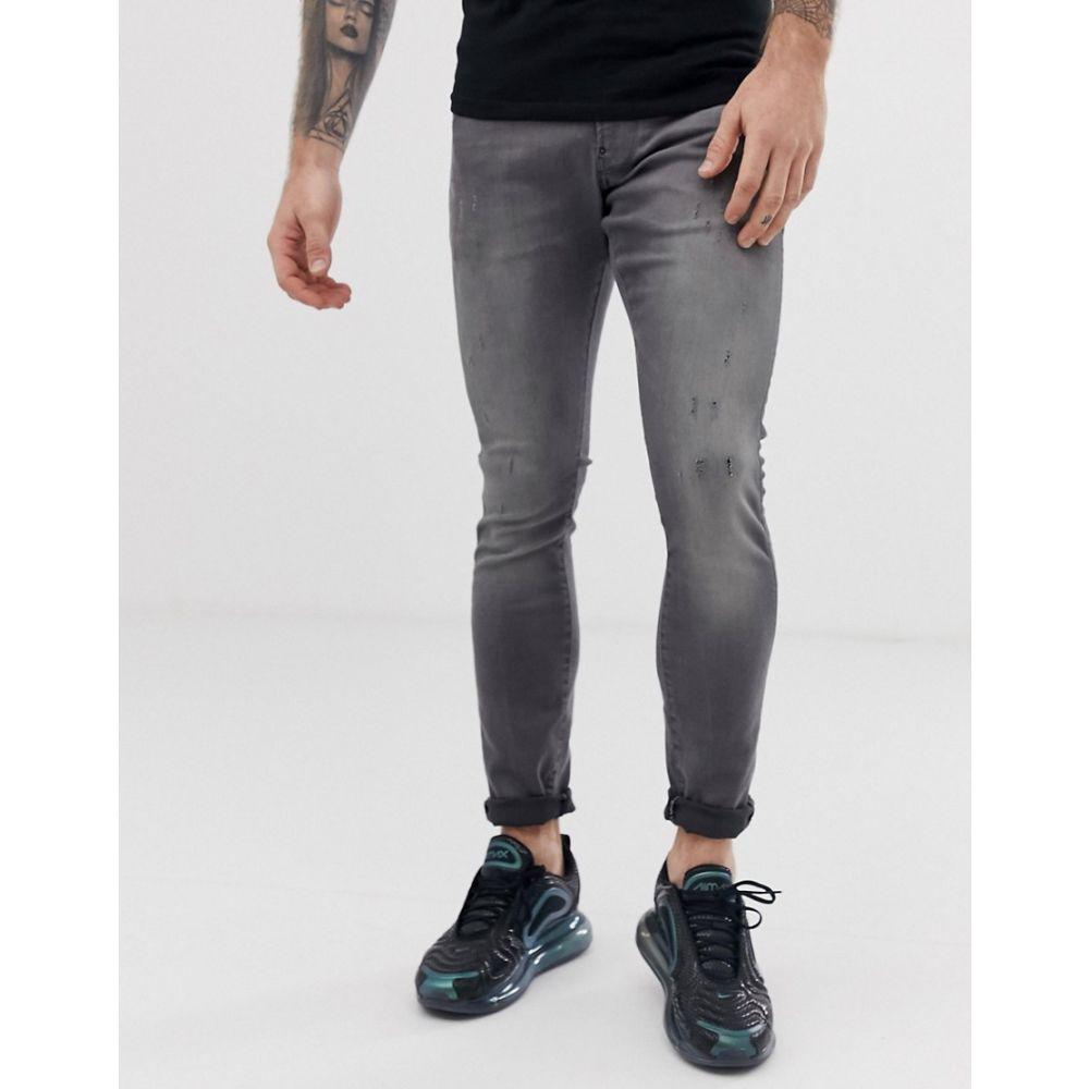 ジースター ロゥ G-Star メンズ ボトムス・パンツ ジーンズ・デニム【Revend skinny fit jeans in grey】Grey