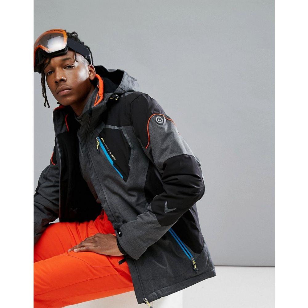 キルテック Killtec メンズ スキー・スノーボード アウター【Senor Hooded Ski Jacket】Grey